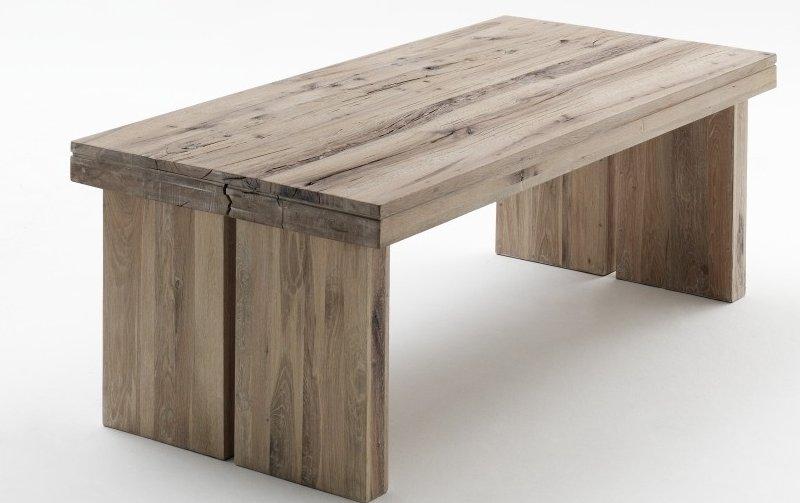 Jídelní stůl DUBLIN dub přírodní masiv