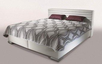 Čalouněná postel s úložným prostorem GROTA - New Design 160x200