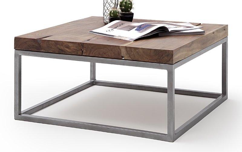 Konferenční stolek z masivu AMELITO tmavý akát