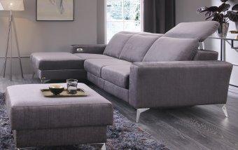 Designová rohová sedací souprava s funkcí relax DIVERSO