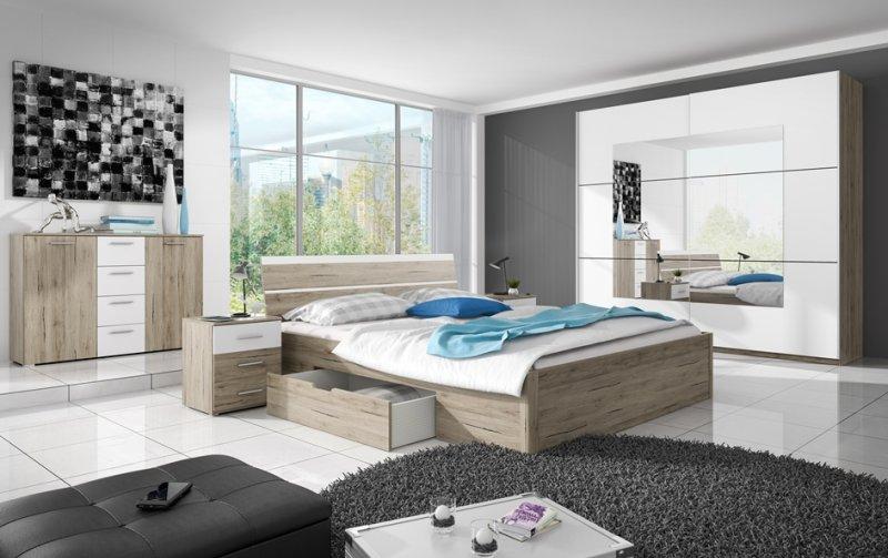Ložnice BETA dub san remo