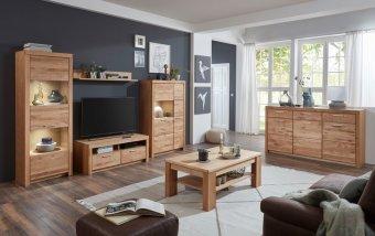 Nábytek do obývacího pokoje MALANS dub olejovaný