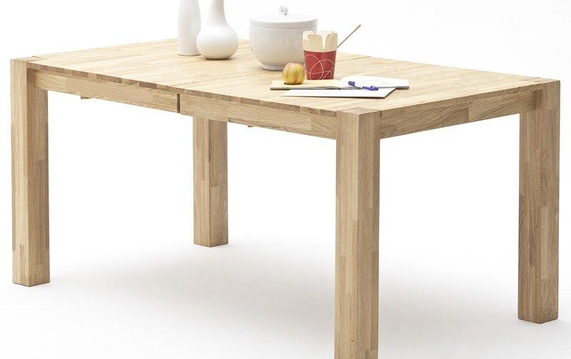 Rozkládací jídelní stůl z masivu FERDI dub divoký