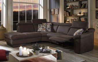 Rohová sedací souprava KENNEDY s funkcí TV