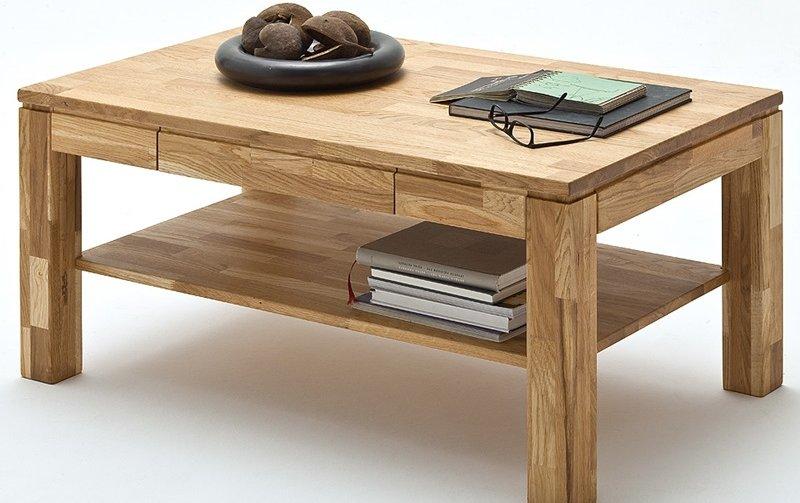 Konferenční stolek z masivu LUKAS dub přírodní