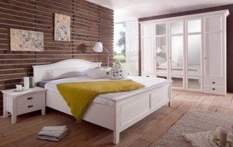 Ložnice FARA borovice bílá