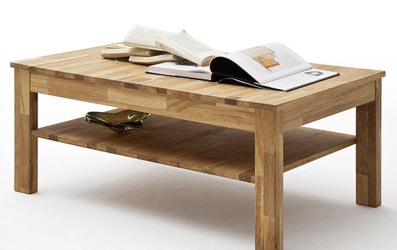Konferenční stolek z masivu FABIAN dub divoký