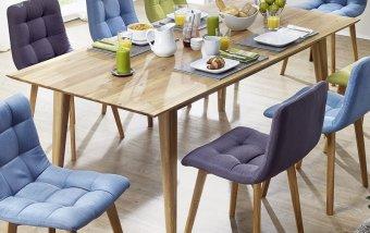 Jídelní stůl MAX 200x100 dub divoký - skandinávský design