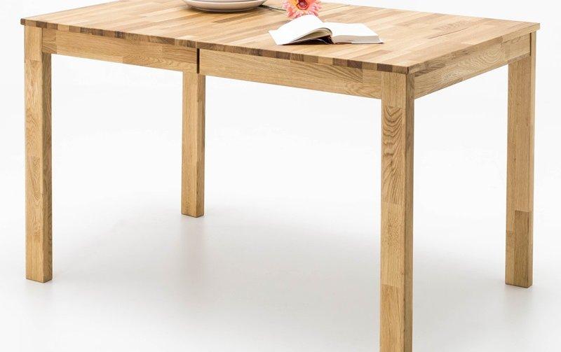 Rozkládací jídelní stůl z masivu FABIAN dub divoký