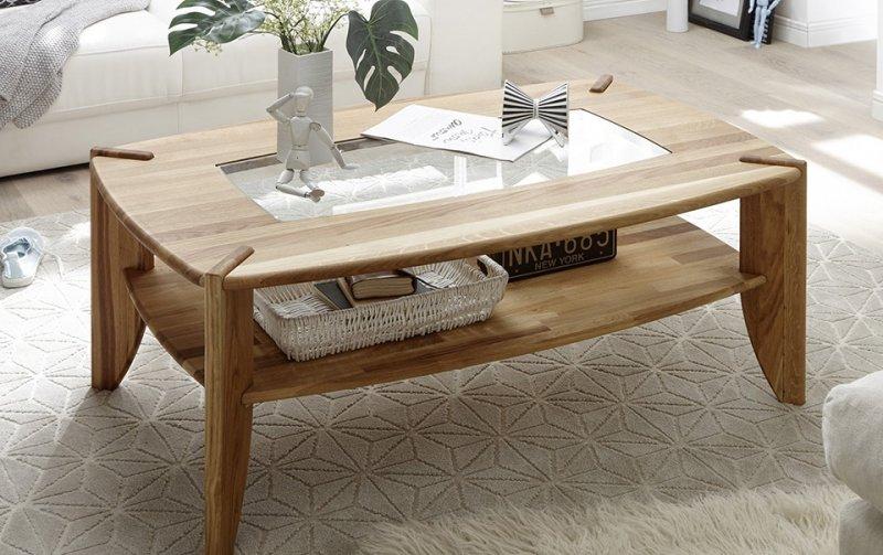 Konferenční stolek z masivu TAMILO dub přírodní