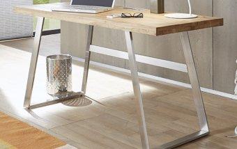 Dřevěný psací stůl ANDRIA z dubového masivu