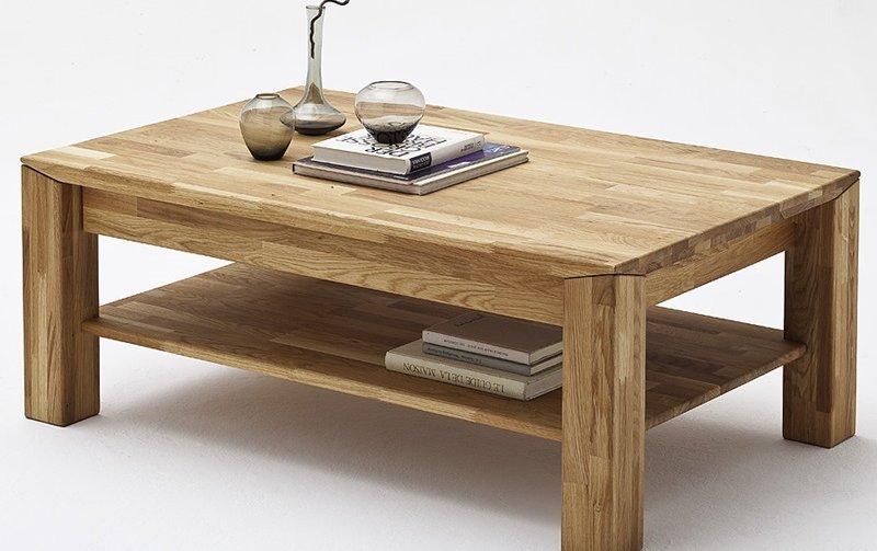 Konferenční stolek z masivu MESSINA dub přírodní