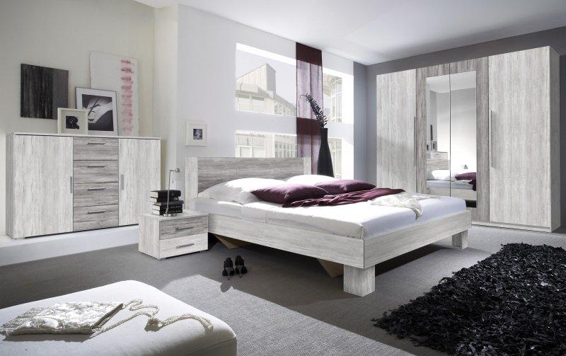 Moderní ložnice VERA severská borovice