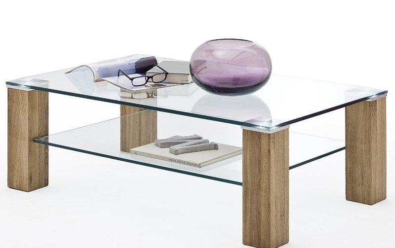 Konferenční stolek z masivu ALMA II dub přírodní
