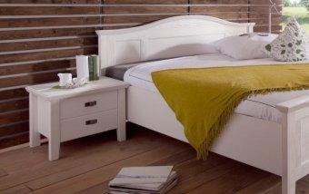 Noční stolek FARA borovice bílá