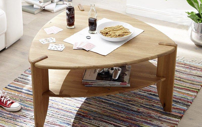 Konferenční stolek z masivu THEO dub přírodní