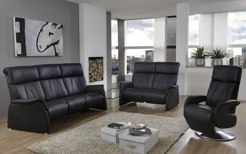 Luxusní kožená sedací souprava s funkcí relax 3+2+1 MAGIC RELAXX