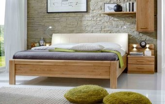 Vyšší postel 180x200 v. 48 cm TOLEDO 1 dub