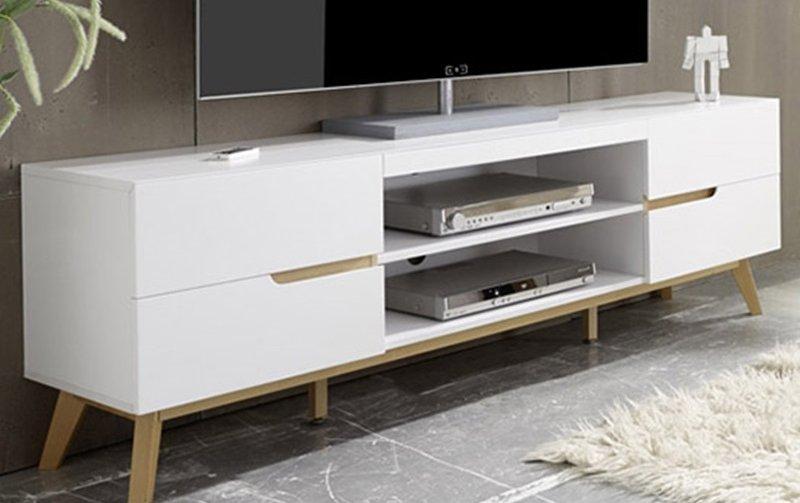 Televizní stolek ve skandinávském stylu CERVO
