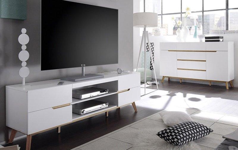 Skandinávský nábytek do obývacího pokoje CERVO 1
