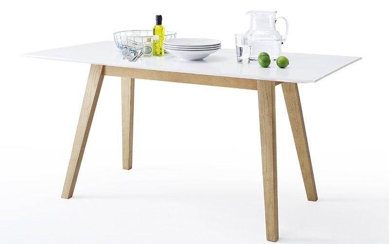 Jídelní stůl ve skandinávském stylu CERVO 160x80 cm