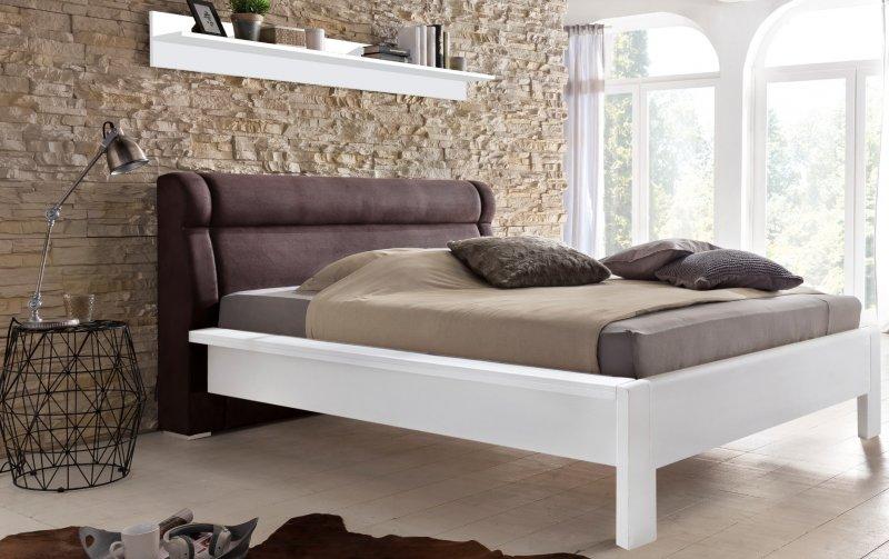 Postel LISA A borovice bílá 160 x 200