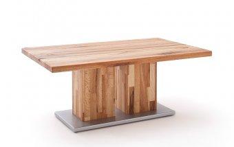 Konferenční stolek z masivu TURIN burgunský dub