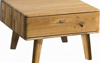 Dubový konferenční stolek z masivu DALLAS dub olejovaný (typ 66)