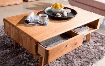 Dubový konferenční stolek z masivu DALLAS dub olejovaný (typ 67)