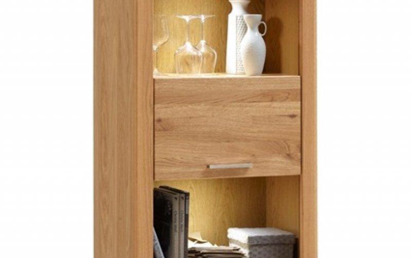 Vitrína do obývacího pokoje MALANS dub olejovaný typ 13