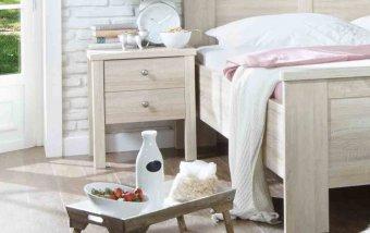 Noční stolek BERGAMO dub sonoma