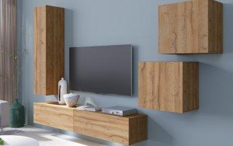 Moderní obývací stěna VENTO (typ 11) dub Grandson