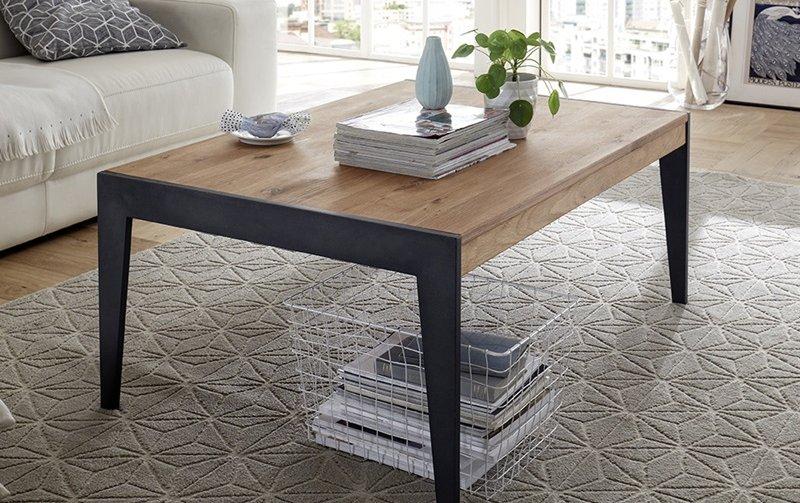 Konferenční stolek z masivu GIBRALTAR dub sukatý