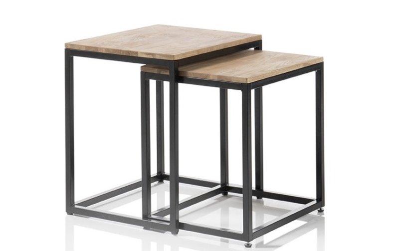 Sada dvou konferenčních stolků z masivu SAKURA dub sukatý