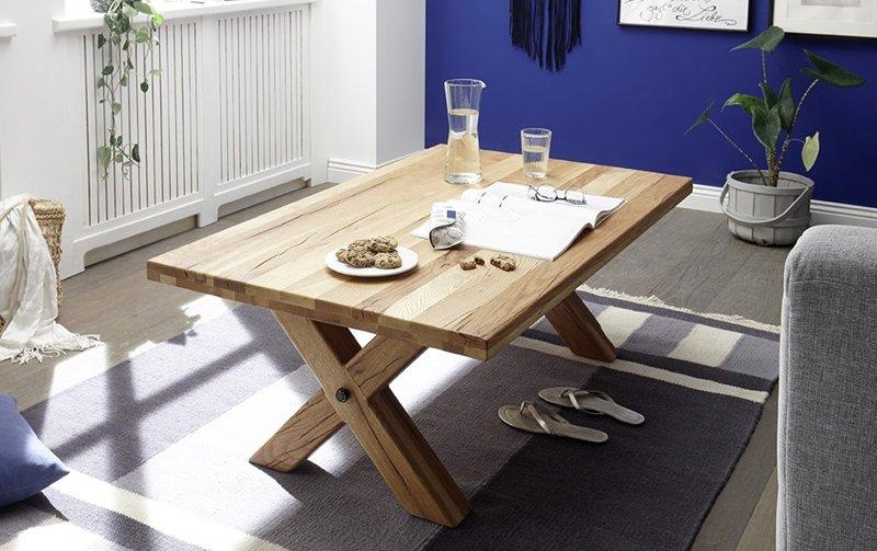 Konferenční stolek z masivu TOTOLA burgunský dub
