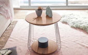 Konferenční stolek z dubového masivu VILNIUS