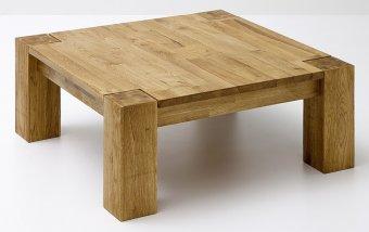 Konferenční stolek z masivu ALLEN dub sukatý