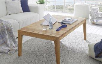 Rozkládací konferenční stolek z masivu GOETEBORG dub sukatý