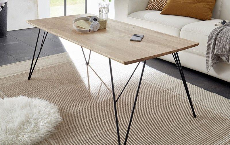 Konferenční stolek z masivu CASABLANCA II dub sukatý