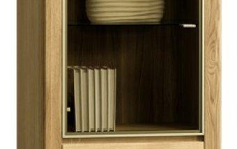 ORLANDO/ROLANDO dubová vitrína levá typ 10 dub natura