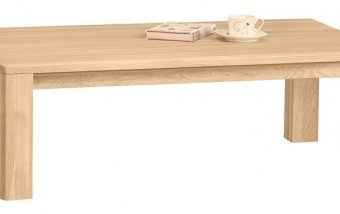 ORLANDO/ROLANDO dubový konferenční stolek typ 67 dub bianco