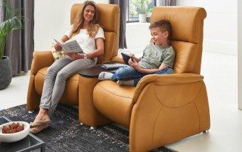 Luxusní kožená televizní pohovka MAGIC RELAXX