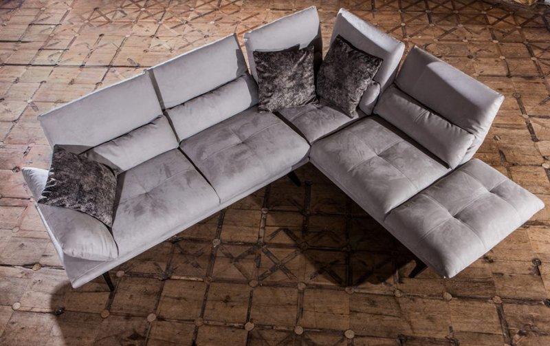Luxusní designová rohová sedací souprava CONCORDE