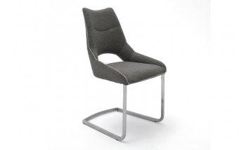 Židle jídelní ALDRINA šedá