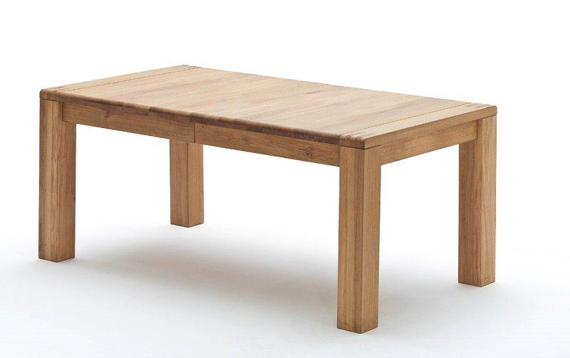 Rozkládací jídelní stůl ANTON dub bělený