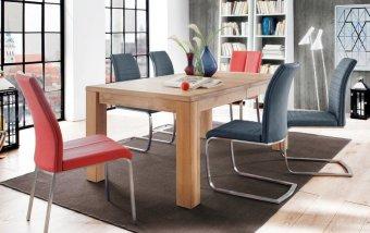 Jídelní set pro 6 osob - stůl ANTON + židle FLORES