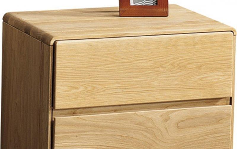 Dubový noční stolek se zásuvkami ATLANTA/Helsinki dub přírodní