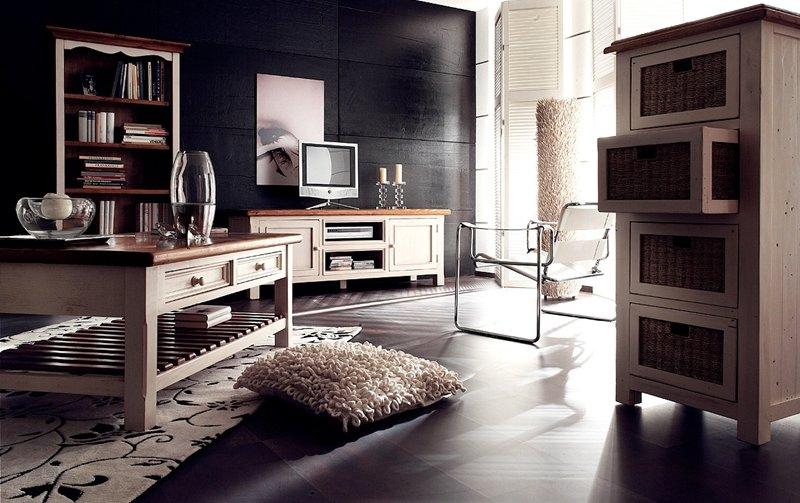 Obývací nábytek ve venkovském stylu BODDE