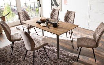 Jídelní set pro 6 osob - stůl CORDOBA + židle NAVARRA