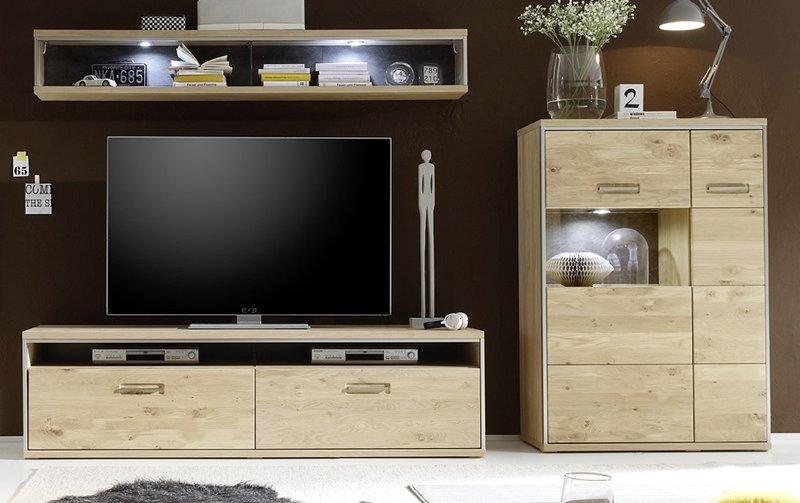 Nábytek do obývacího pokoje ESPERO IV dub sukatý bělený
